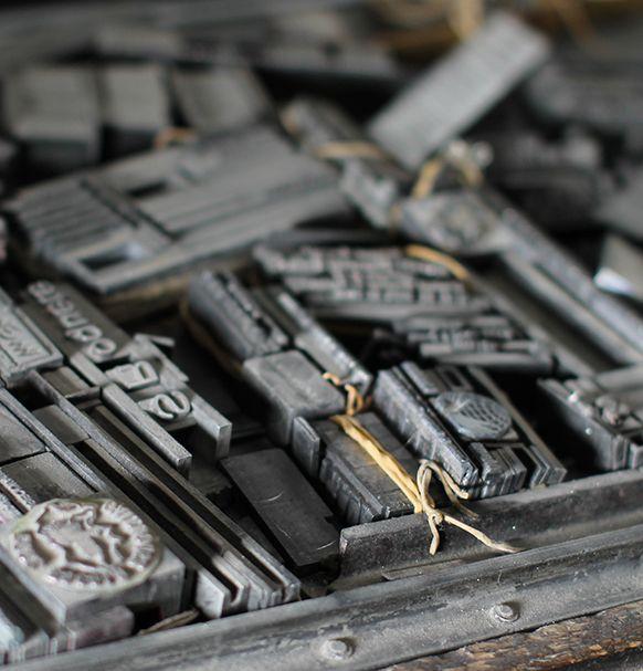 tipografia antiga impremta