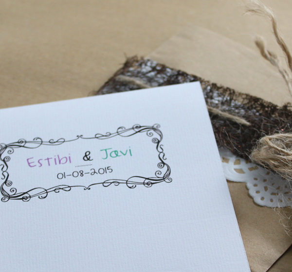 Invitacions de boda